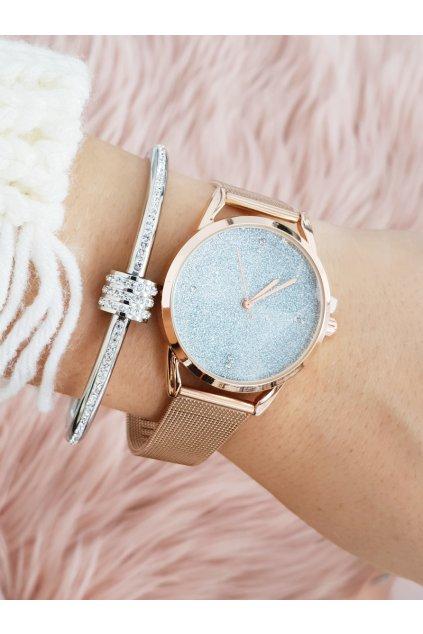 Náramkové hodinky Michael John Rapter Ružové Zlato