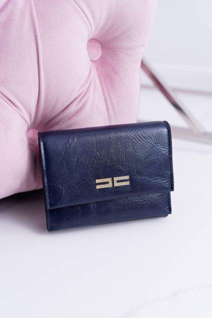 Dámska Peňaženka Klasická Malá Tmavá Modrá Na Magnetu