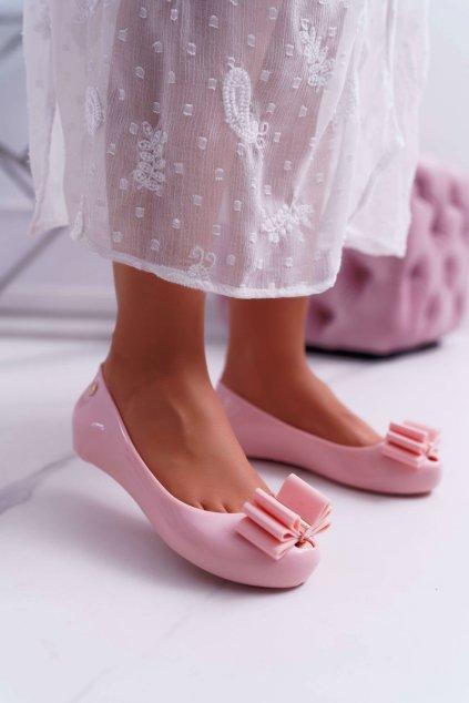 Dámske balerínky ružové Kasha