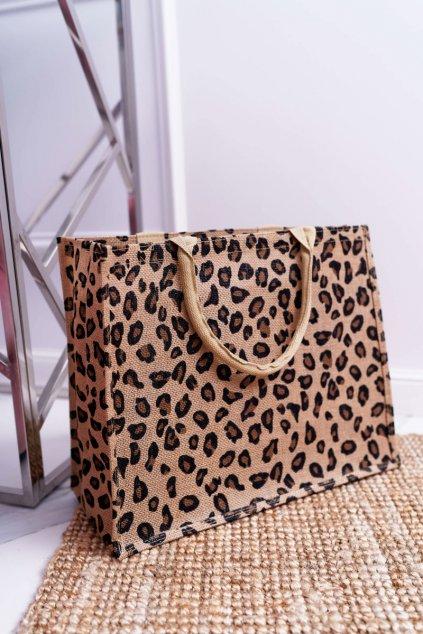 Plážová kabelka Leopard