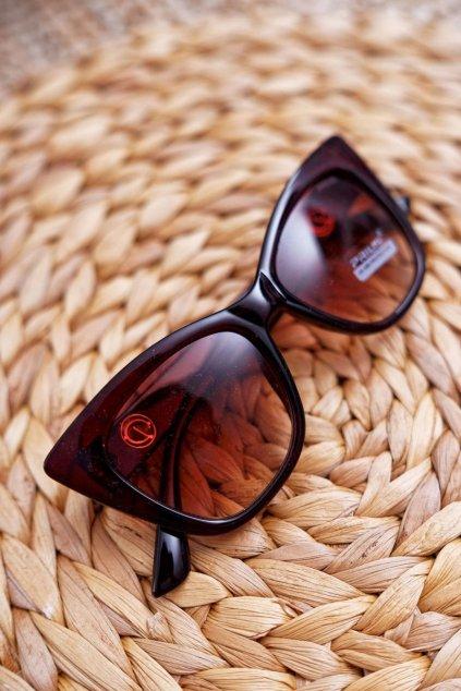 Slnečné okuliare Prius PR-V24 Hnedé