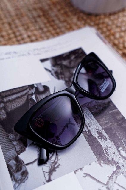 Slnečné okuliare Prius PR-V24 čierne