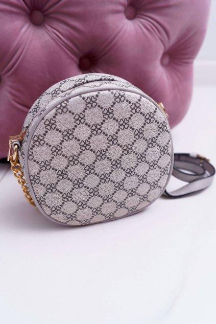 Dámska kabelka hnedá kód kabelky AD-5 BEI/GREY