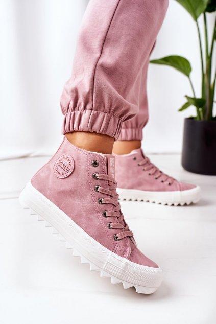 Dámske tenisky farba ružová kód obuvi EE274113 PINK