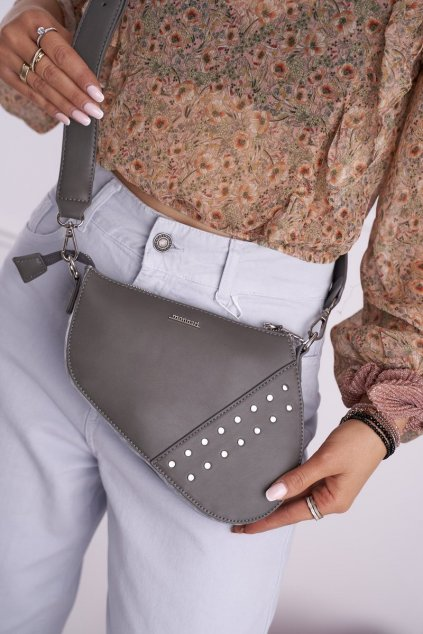 Dámska kabelka sivá kód kabelky BAG9090-019 GREY