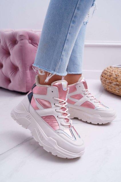 Dámska športová obuv ružové Midrow