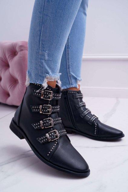 Lu Boo   Hrejivé topánky Virginia Rock Star Nity s prackami