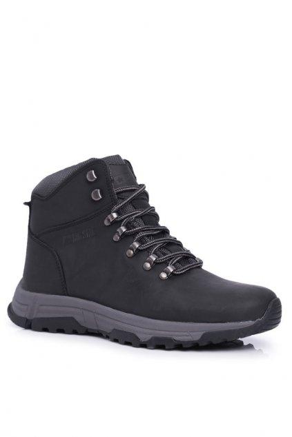 Pánske trekingové topánky farba čierna kód obuvi EE174201 BLK