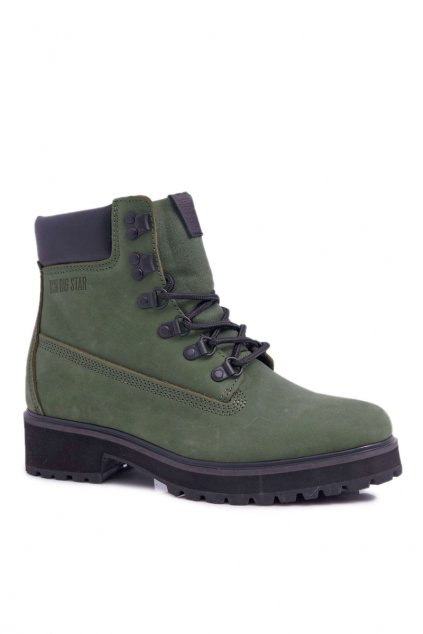 Dámske Turistické členkové topánky B. Star Zelené EE274031