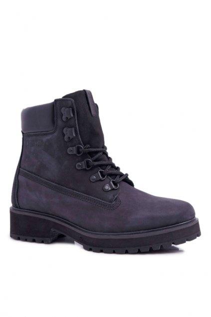 Dámske Turistické členkové topánky B. Star čierne EE274033