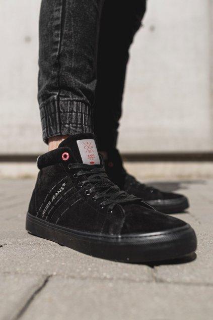 Čierna obuv kód topánok EE1R4057C BLK