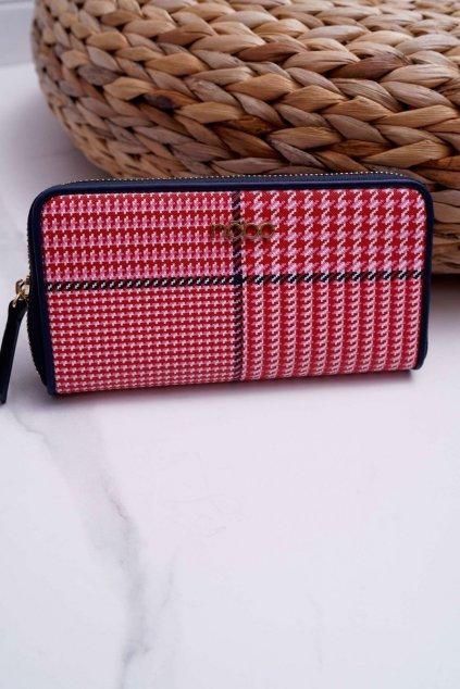 Peňaženka farba červená kód NPUR-H0061-CM05 MULTI RED