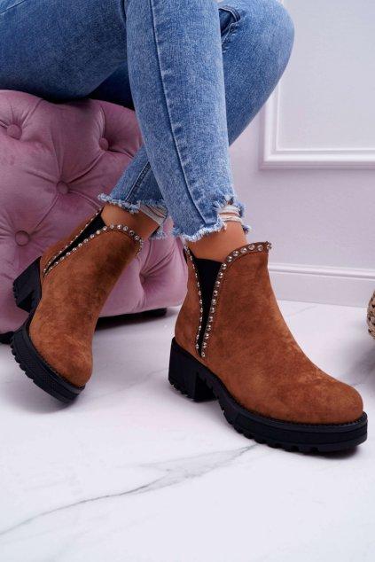 Dámske topánky so zirkónmi ťavie Sissy