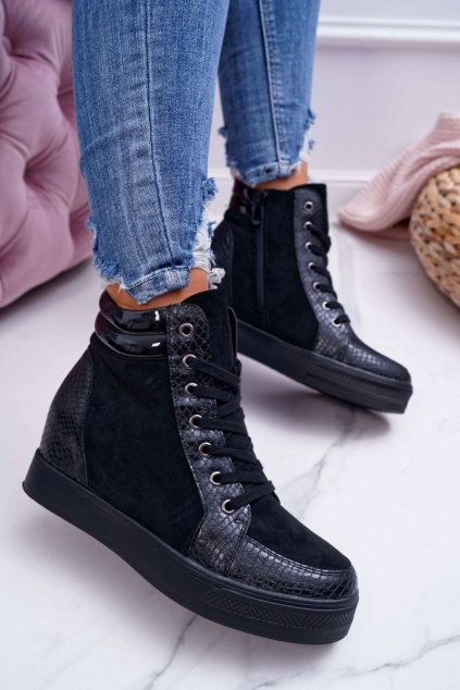 Dámska Obuv Sneakers čierne Ferrer