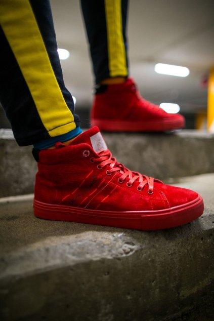 Červená obuv kód topánok EE1R4055C RED