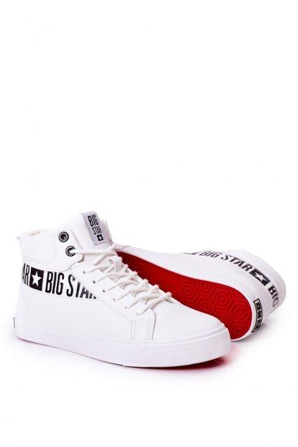 Pánske tenisky B. Star Vysoké biele EE174340