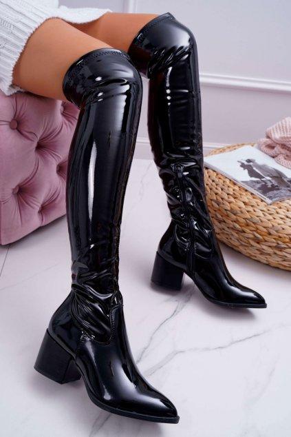 Dámske zateplené topánky čierne So close