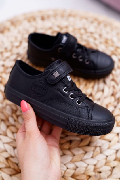 Detské Fashion Tenisky B. Star čierne EE374034