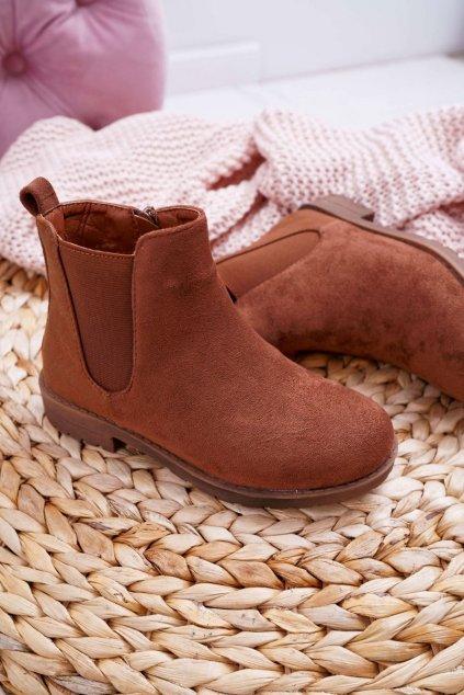 Detské členkové topánky ťavia Mergolo