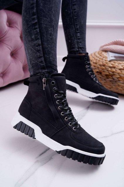 Dámska športová obuv B. Star čierne EE274221
