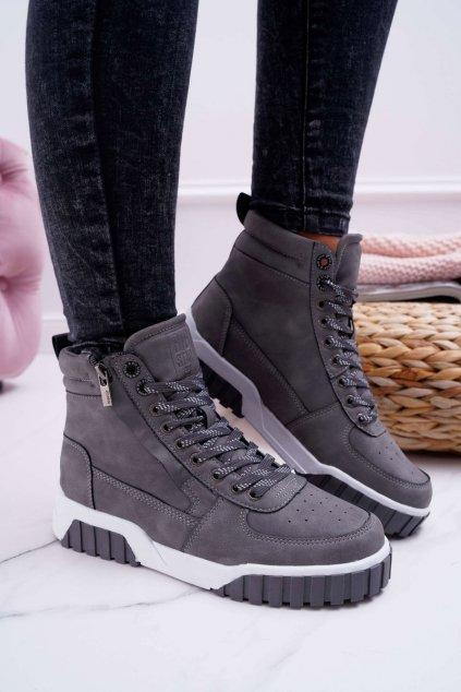 Dámska športová obuv B. Star sivé EE274222