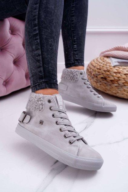 Dámske tenisky farba sivá kód obuvi EE274079 GREY