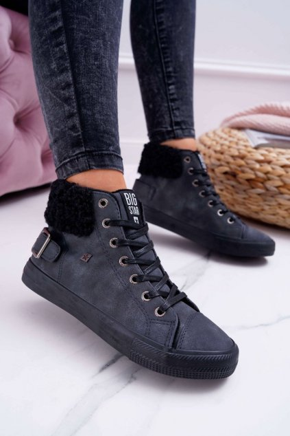 Dámske tenisky farba čierna kód obuvi EE274080 BLK