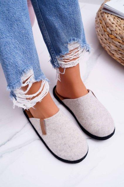 Dámske papuče B. Star Béžové D267862A