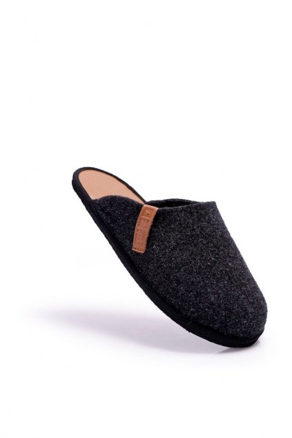 Pánske papuče B. Star čierne D167175A