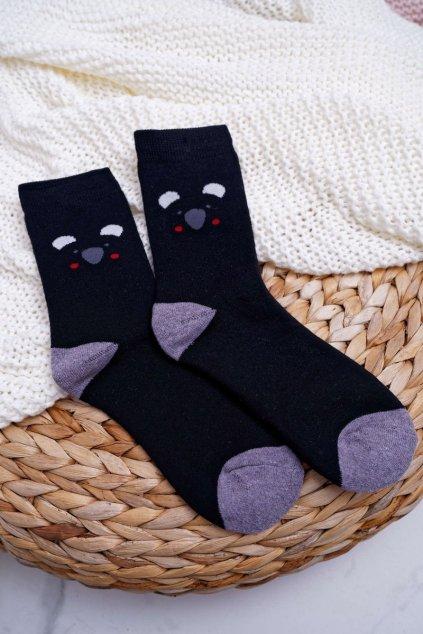 Dámske ponožky farba čierna kód NV5707 BLK PANDA