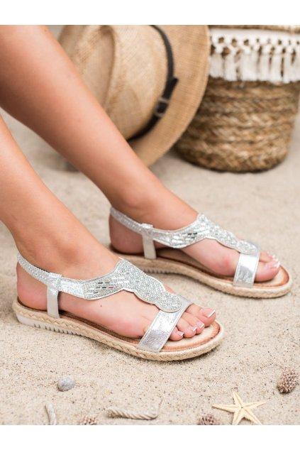 Sivé sandále - Emaks kod CO-79S
