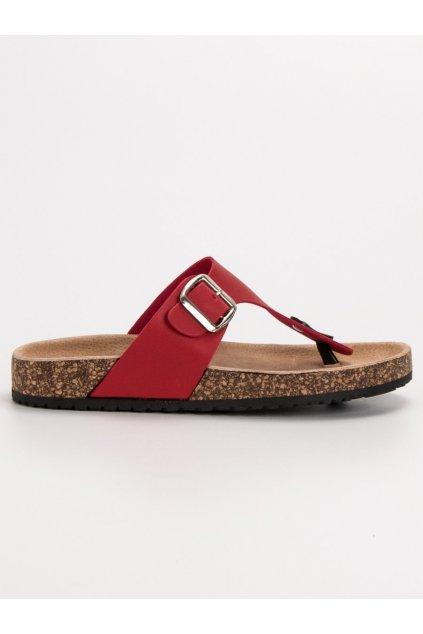 Červené dámske šľapky - Seastar DD97R