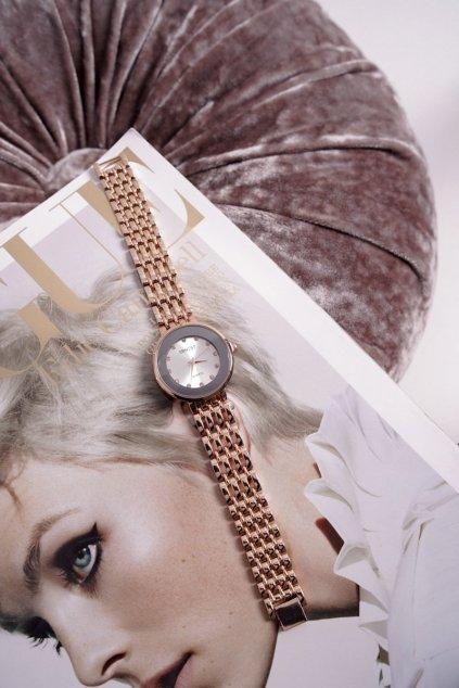 Dámske hodinky ernest ružové zlato Beauty