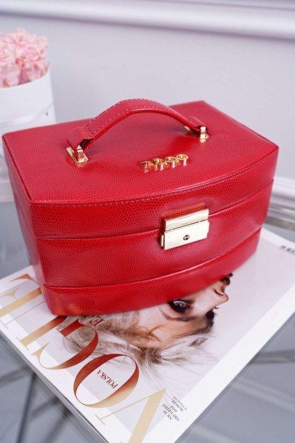 Dámska kabelka červená kód kabelky NBOX-I00-C005 RED