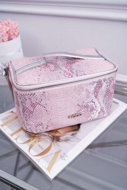 Dámska kabelka ružová kód kabelky NCOS-I03-CM19 PINK/SILVER