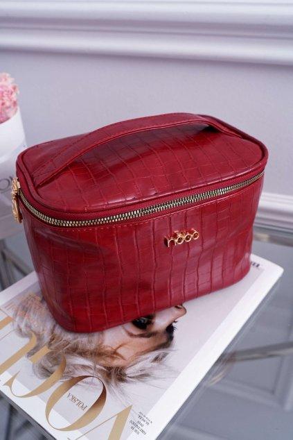 Dámska veľká kozmetická taška NOBO Červené NCOS-I0331-C005