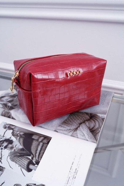 Dámska kozmetická taška červená kód kozmetičky NCOS-I0321-C005 RED