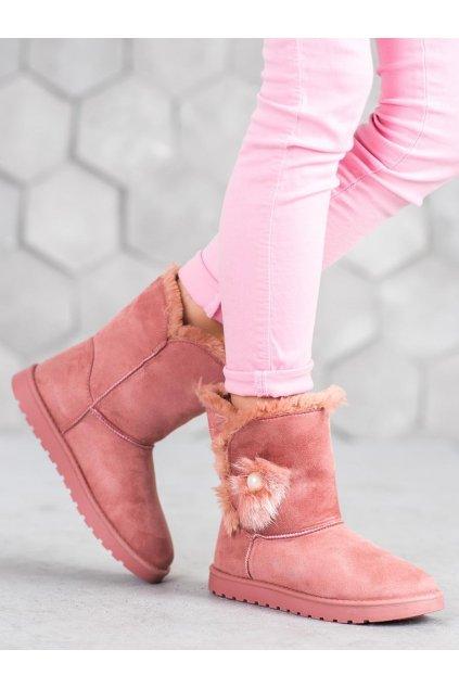 Ružové snehule dámske - Shelovet kod LC9674P