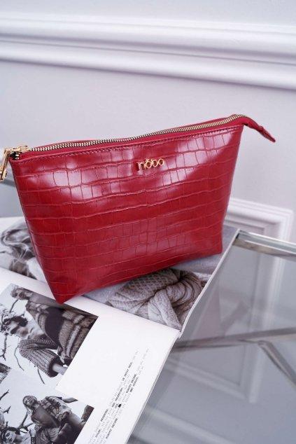Dámska kozmetická taška červená kód kozmetičky NCOS-I0341-C005 RED