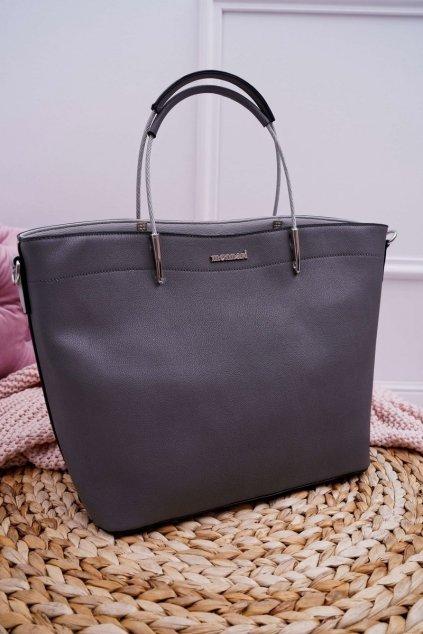 Dámska kabelka sivá kód kabelky BAGA730-019 GREY