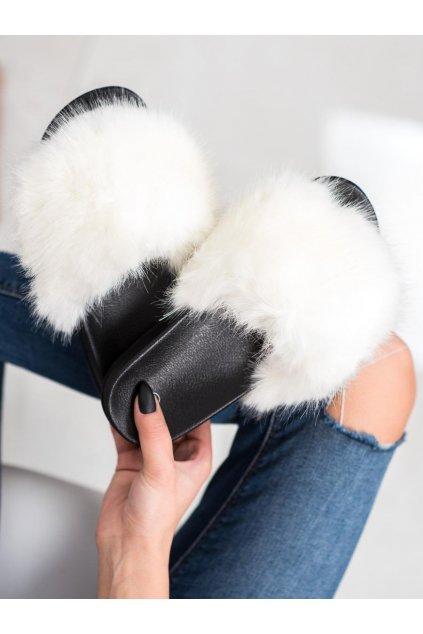 Biele dámska obuv na doma - Shelovet kod CK107WH
