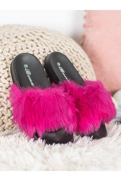 Ružové dámska obuv na doma Shelovet kod RS-9F