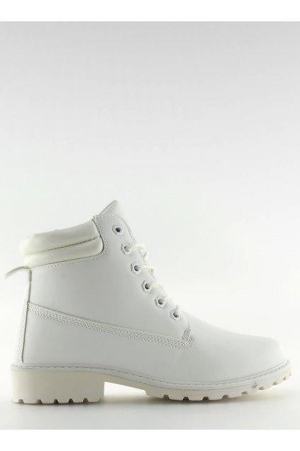 Dámske topánky na zimu biele BL83