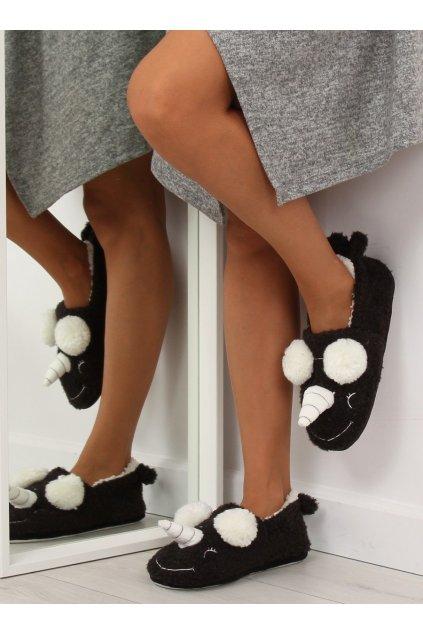 Damske ponožky čierne DN2116