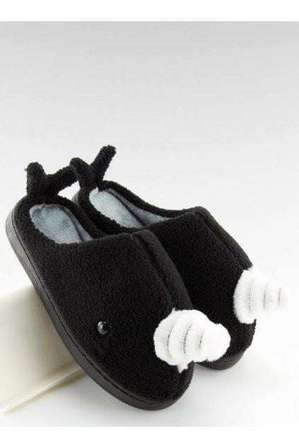 Damske šľapky čierne DD92