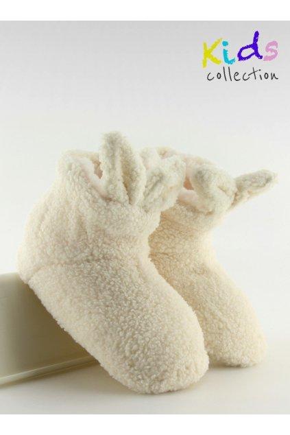 Detská obuv biele GM902