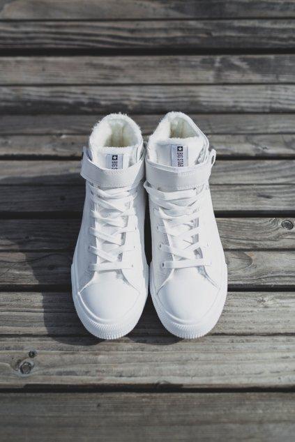 Pánske tenisky B. Star zateplené biele Y174024FW
