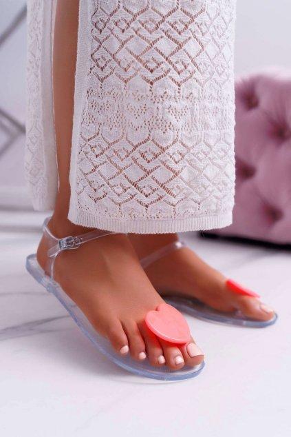 Dámske Gumové Sandále Se Srdcem Coral Imanda