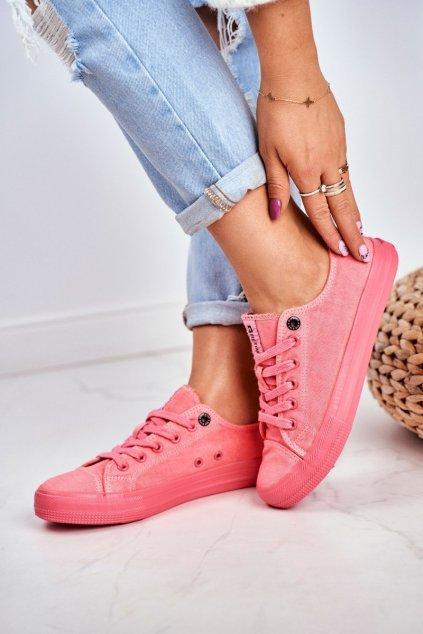 Dámske tenisky farba ružová kód obuvi DD274444 RED