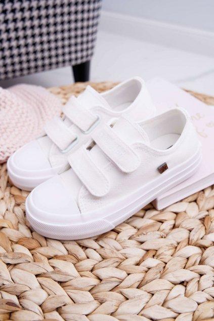 Detské tenisky farba biela kód obuvi FF374096 WHITE